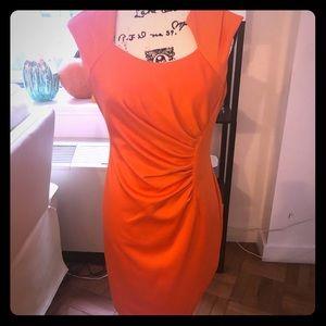 Preowned Calvin Klein Orange 🍊 size 6 dress